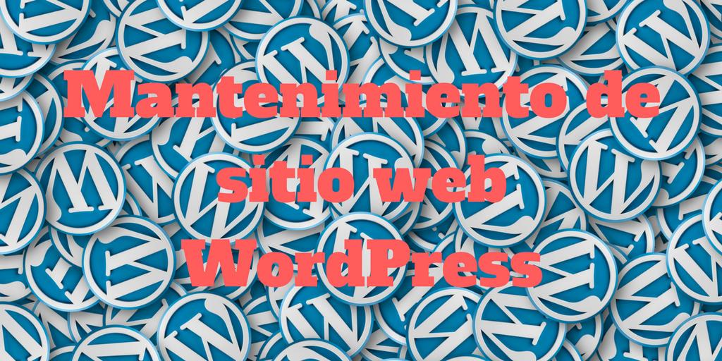 Consejos de mantenimiento para tu sitio web WordPress