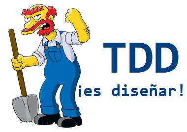 TDD es una técnica Jedi de diseño de software emergente; hacer test primero es TFD